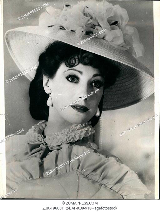 1969 - Introducing the new Vivian Leigh : lovely Marisa Berenson is siad to be the year's most fortunate Hollywood actress