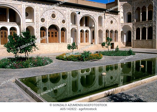 Tabataball house. Kashan. Iran