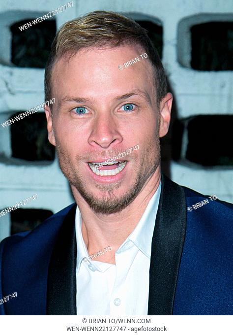 Celebrities attend BACKSTREET BOYS: SHOW 'EM WHAT YOU'RE MADE OF at Arclight Cinemas - Cinerama Dome in Hollywood. Featuring: Brian Littrell Where: Los Angeles