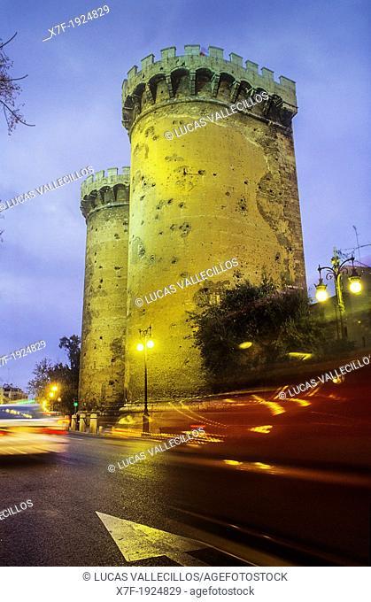 `De Quart'towers, Valencia,Spain