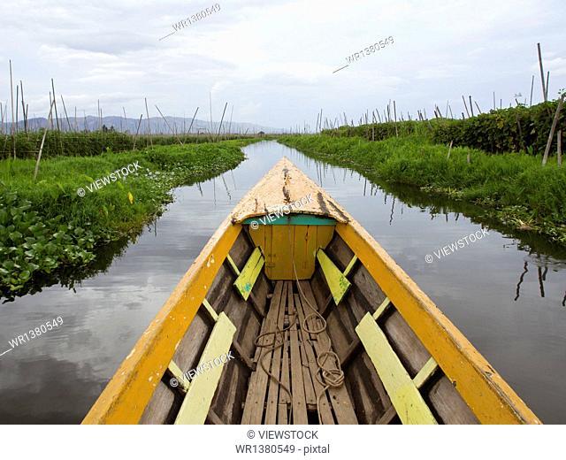 Myanmar Inle Lake Village