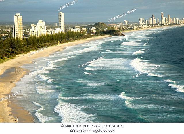 Gold Coast Coastline, Queensland, Australia