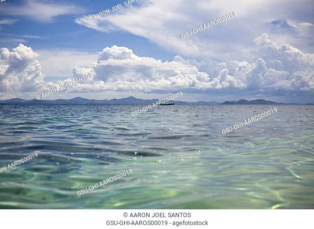 clear waters, blue, sky, philippines