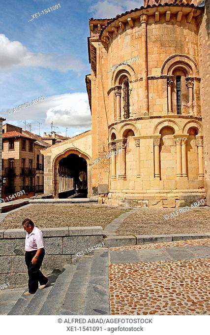 Church of Saint Martin, Romanesque, Segovia, Spain
