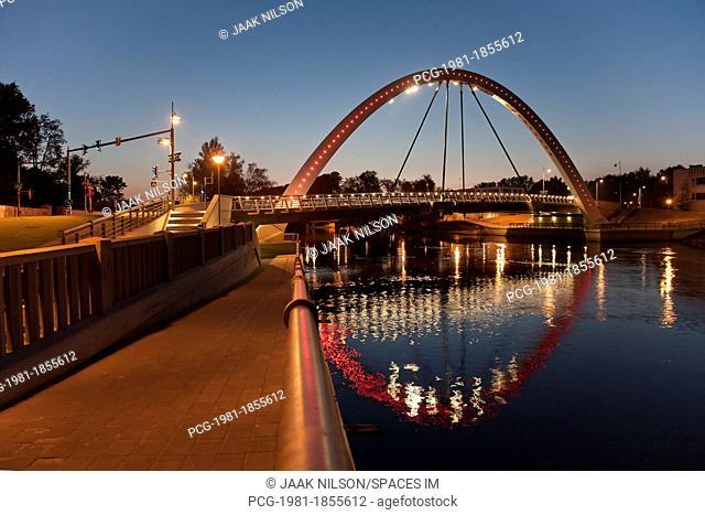 Estonian Bridge and Archway