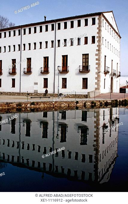 paper mill reflex, s XVIII-XIX, nowadays is an important paper museum. Capellades, Catalonia, Spain