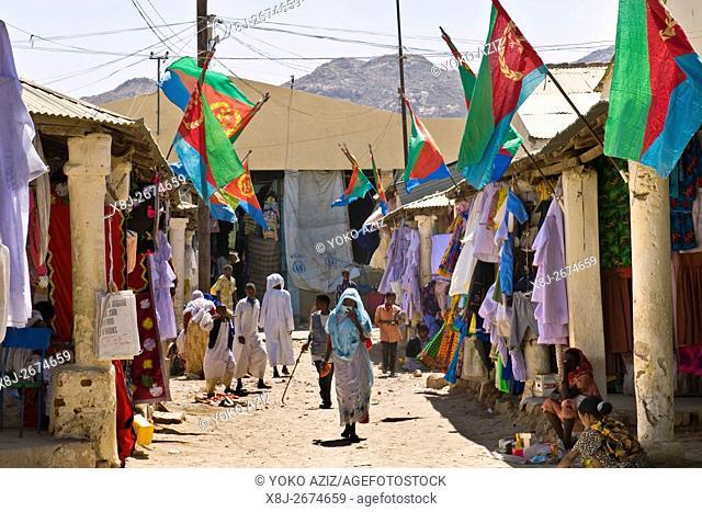 daily life, Keren, Eritrea