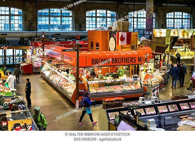 Canada, Ontario, Toronto, St. Lawrence Market, interior