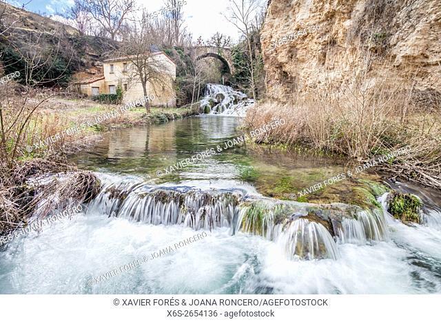 Sedano village, Paramos region, Burgos, Spain