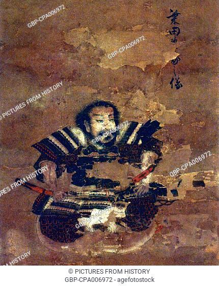 Japan: Shibata Katsuie (aka Gonroku, 1522 – 1583) was a Japanese military commander during the Sengoku Period who served Oda Nobunaga