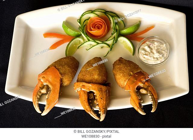 Crab Claw Appetizer Plate - Hemingways Resort - Watamu, Kenya
