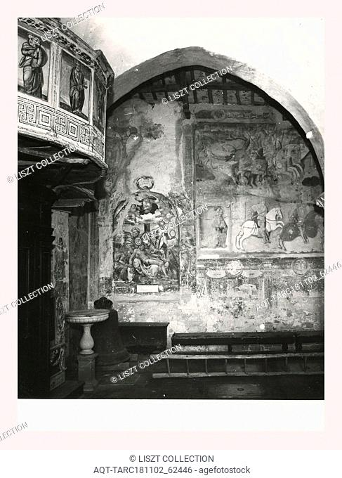 Marches Macerata Mevale Pieve, this is my Italy, the italian country of visual history, Parish church dating from the 13th century with interior decoration...