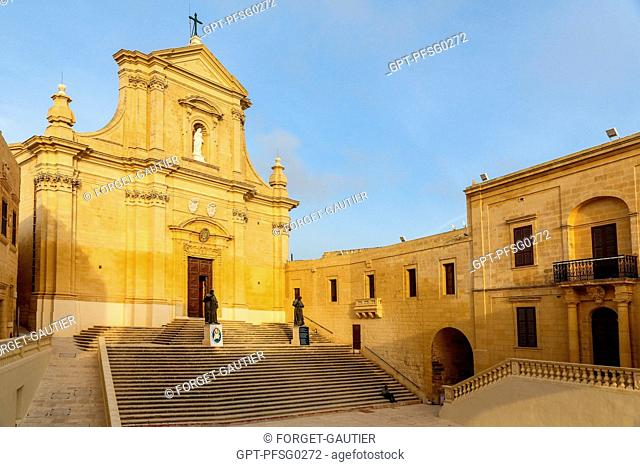 THE CATHEDRAL OF THE ASSUMPTION OF THE BLESSED VIRGIN MARY OF GOZO, VICTORIA, RABAT, GOZO ISLAND, MALTA