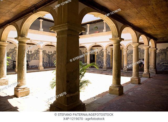 Court Yard in the Convento de Sao Francisco, Olinda. Near Recife, Brazil