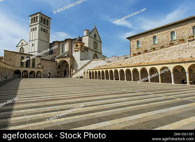 The Papal Basilica of St. Francis of Assisi is the mother church of the Roman Catholic Order of Friars Minor, commonly known as the Franciscan Order