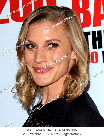 The Big Bang Theory 200th episode party held at Vibiana - Arrivals Featuring: Katee Sackhoff Where: Los Angeles, California