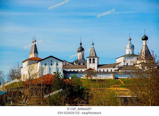 The Ferapontov monastery is a 15-18century. Vologda region.Russia