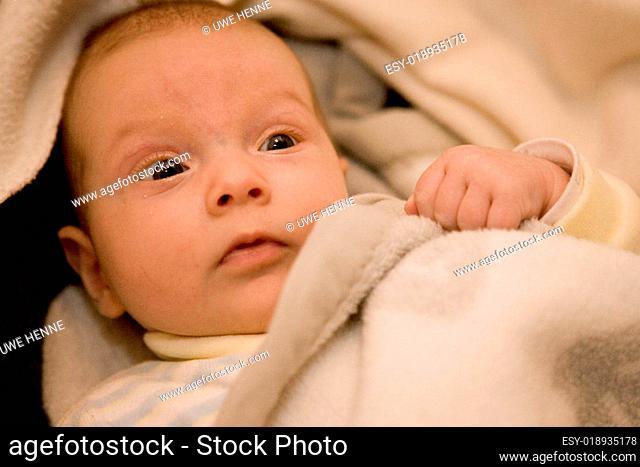 Forschender Babyblick