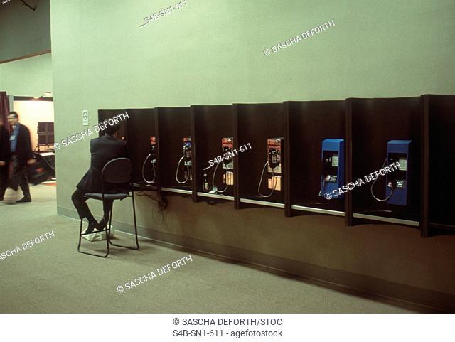 Public Phones - Chicago - Illinois - USA
