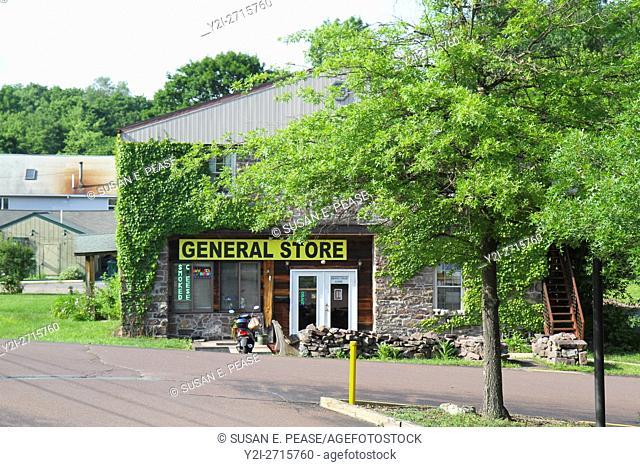 General store, White Haven, Pennsylvania, United States, North America