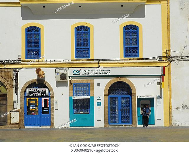 Credit Agricole Bank, Place Moulay el Hassan, Medina, Essaouira, Morocco