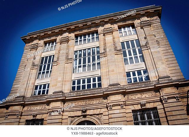 School of Fine Arts of Bordeaux, Gironde, Aquitaine, France, Europe