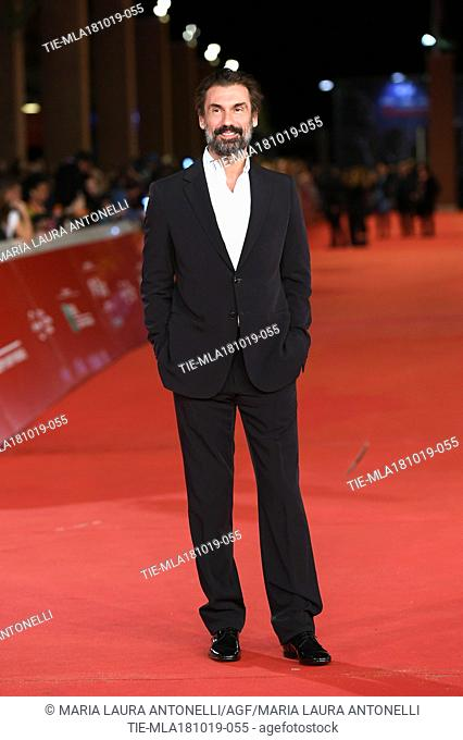 Fabrizio Gifuni during the red carpet of film Motherless Brooklyn at the 14th Rome Film Festival, Rome, ITALY-17-10-2019