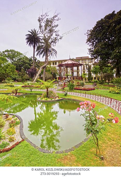 Public Garden, Angra do Heroismo, Terceira Island, Azores, Portugal