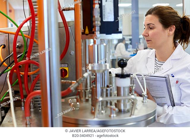 Fermenter, Biotechnology Laboratory, Food industry, Unit of Health, Technology Centre, Tecnalia Research & Innovation, Miñano, Alava, Basque Country, Spain