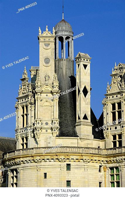 Europe, France, Centre-Val of the Loire, Loir-et-Cher ( 41 ), Loire valley, classified in the UNESCO world heritage, National Domain of the Castle of Chambord