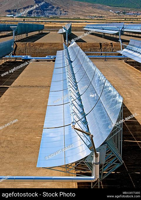 Andasol 1 solar thermal power plant, Guadix, Spain, Europe