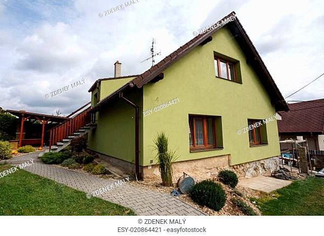 repaired rural house
