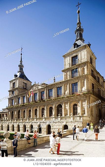 Town Hall, Toledo, Castilla-La Mancha, Spain