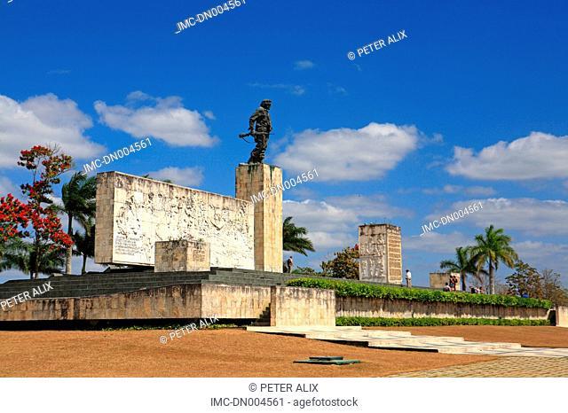 Cuba, Santa Clara, memorial of Che Guevarra