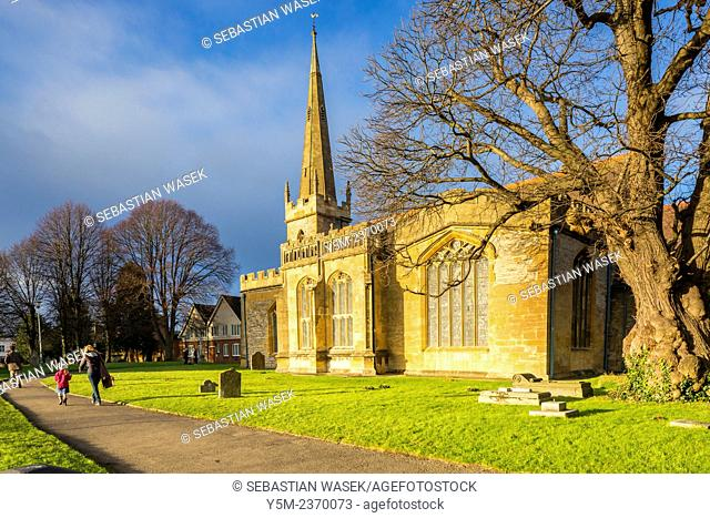 All Saints Church, Evesham, District of Wychavon, Worcestershire, England, United Kingdom, Europe