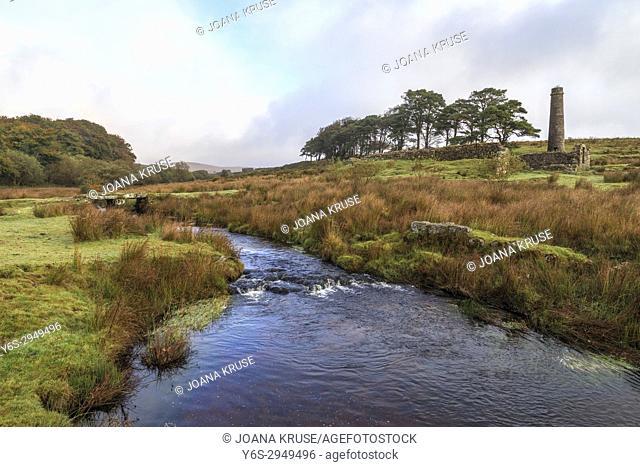 Powdermills, Dartmoor, Devon, England, United Kingdom