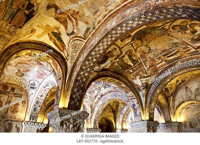 Panteon Real in the Basilica of San Isidoro, Real Basilica De San Isidoro, Leon, Castile-Leon, Spain