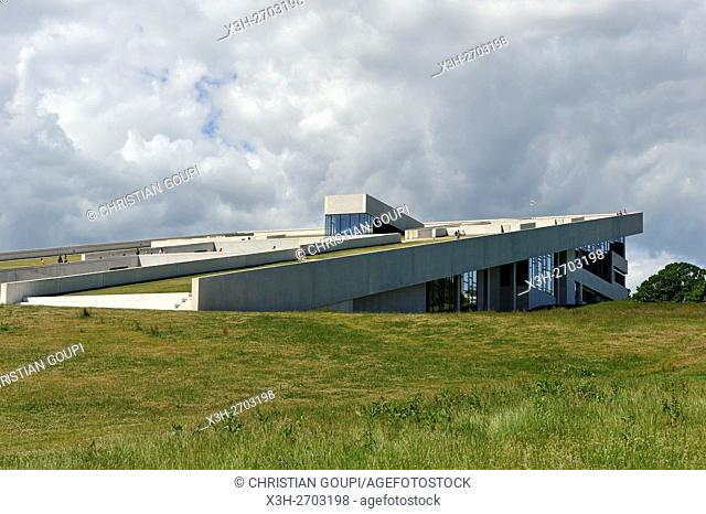 Moesgaard Museum (MOMU) (Henning Larsen Architects), museum dedicated to archaeology and ethnography, located in Hojbjerg, a suburb of Aarhus, Jutland Peninsula