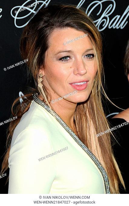 Gabrielle's Angel Foundation Hosts Angel Ball 2014 - Red Carpet Arrivals Featuring: Blake Lively Where: Manhattan, New York