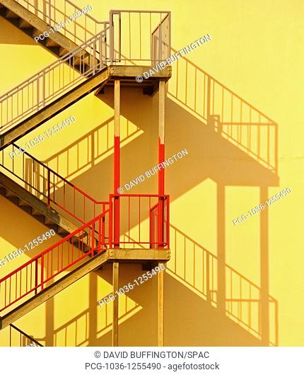 Fire Escape and Shadow