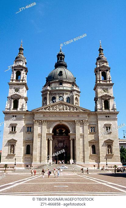 St. Stephen's basilica. Budapest. Hungary