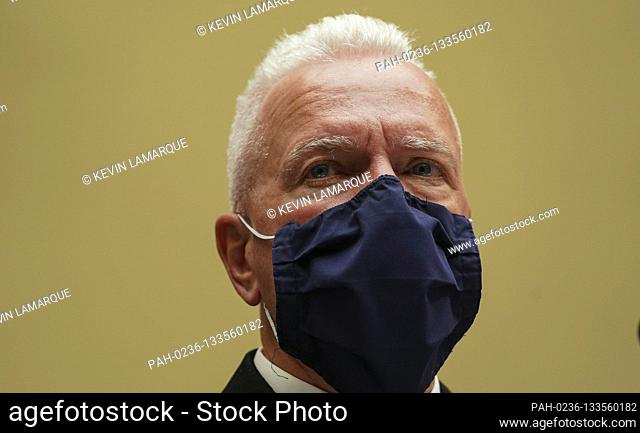 """Admiral Brett Giroir, United States Assistant Secretary for Health, appears at a House Select Subcommittee on the Coronavirus Crisis hearing on """"""""The..."""