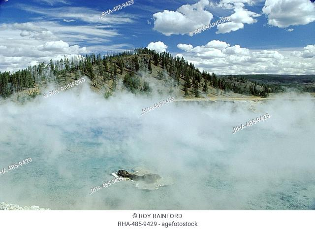 Excelsior Geyser Crater, Yellowstone National Park, UNESCO World Heritage Site, Wyoming, United States of America U.S.A., North America
