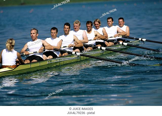 Team of rowers