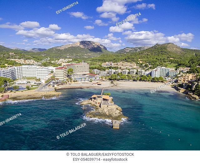 Camp de Mar , municipio de Andrach, Mallorca, balearic islands, Spain