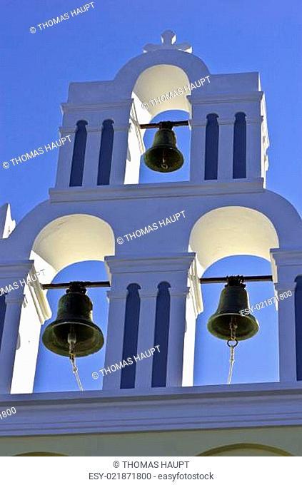 Ansichten von Santorin in Griechenland