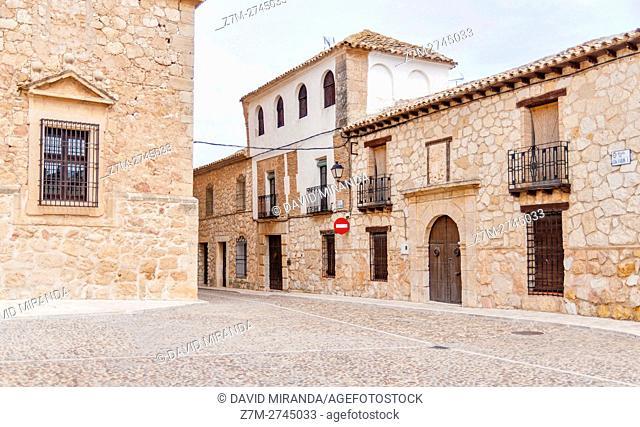 El Toboso. Toledo province, Castile la Mancha, Spain. Route of Don Quijote