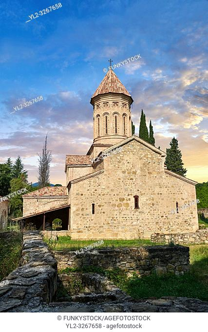 Pictures & images of the Church of the Transfiguration of Ikalto monastery was founded by Saint Zenon, one of the 13 Syrian Fathers, in the late 6th century
