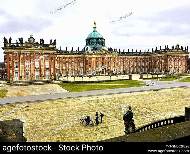 Potsdam, Germany. Das Neues Palace, former Residence of the German Emperors