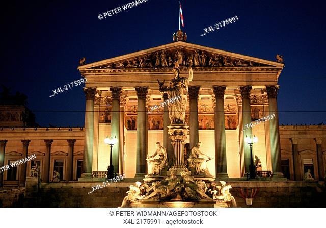 parliament of Vienna, Austria, Vienna, 1. district, parliament